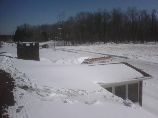 Snow Ice Removal Off Roofs Richland Johnstown Westmont